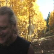 Thomas Goodlunas hiking Hope Valley in the High Sierra