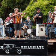 Jam band fiddling upcountry Maui with The Haiku Hillbillys